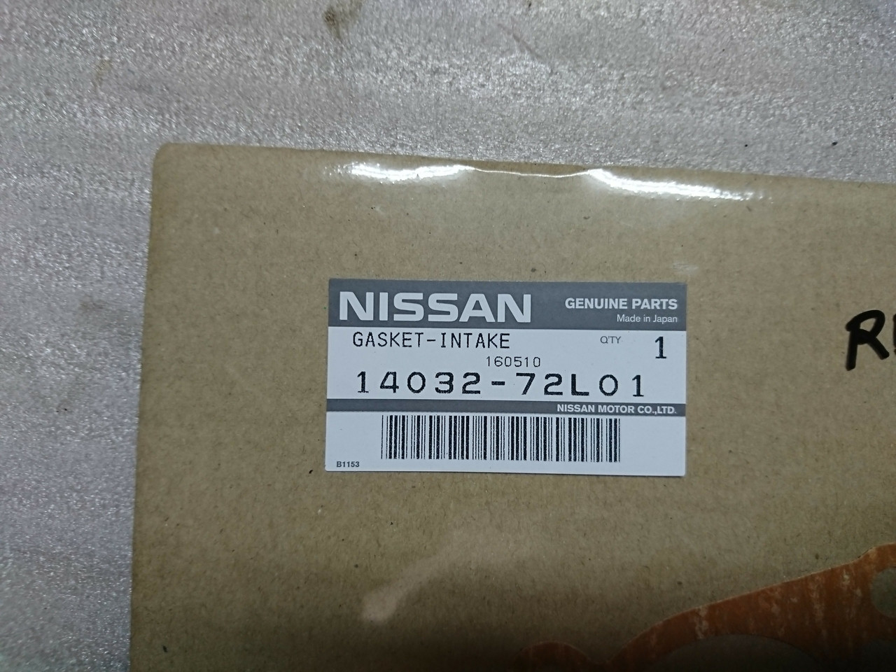 Nissan Genuine OEM Intake Collector Gasket RB20DET