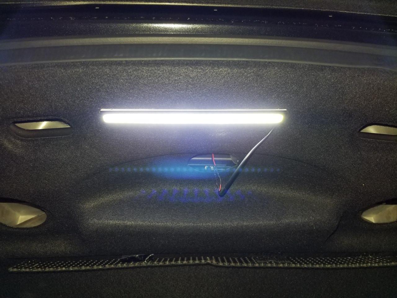 Nissan R35 GT-R Trunk LED Light Kit