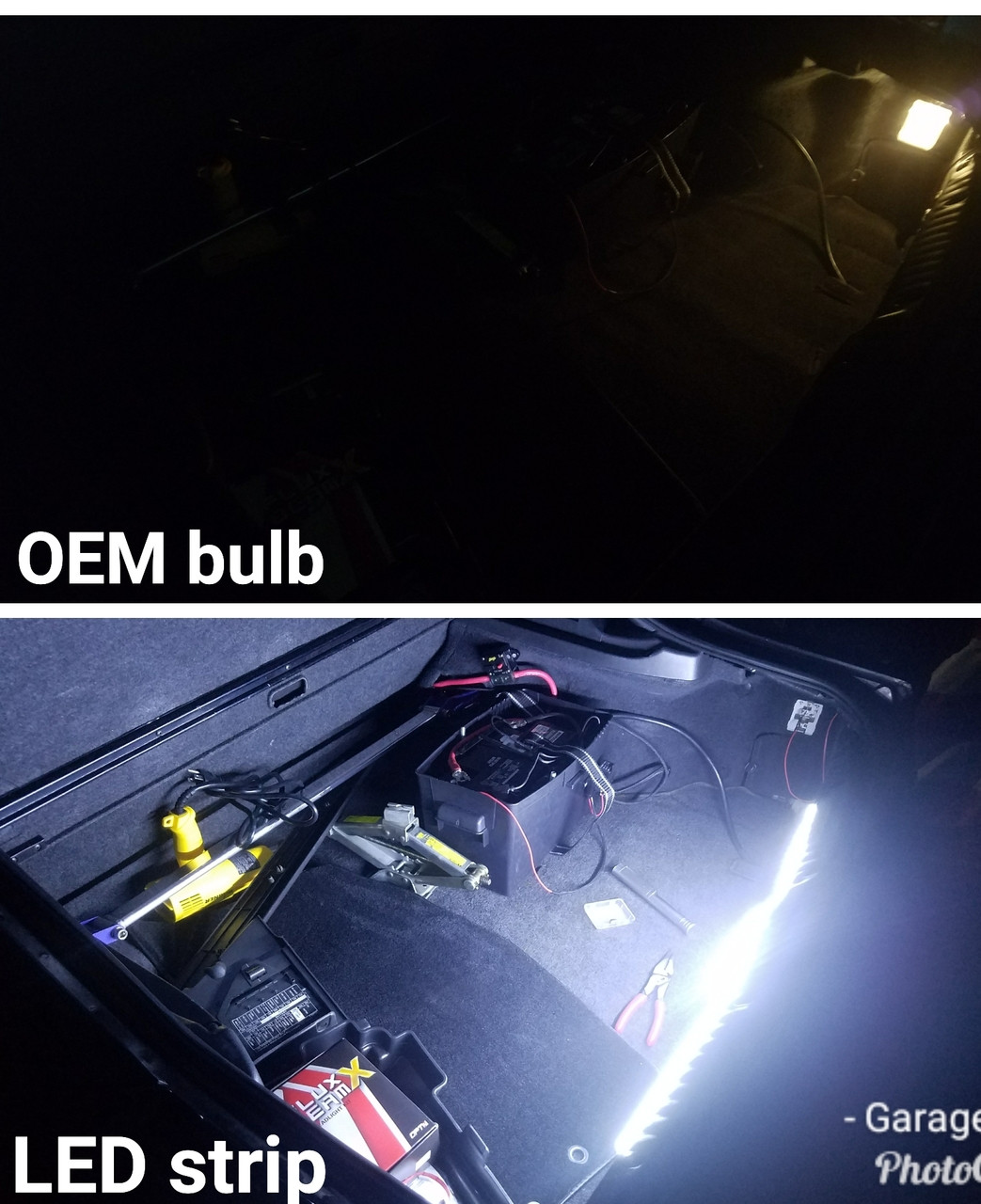 Toyota Supra MA/JZA70 Trunk LED Light Kit