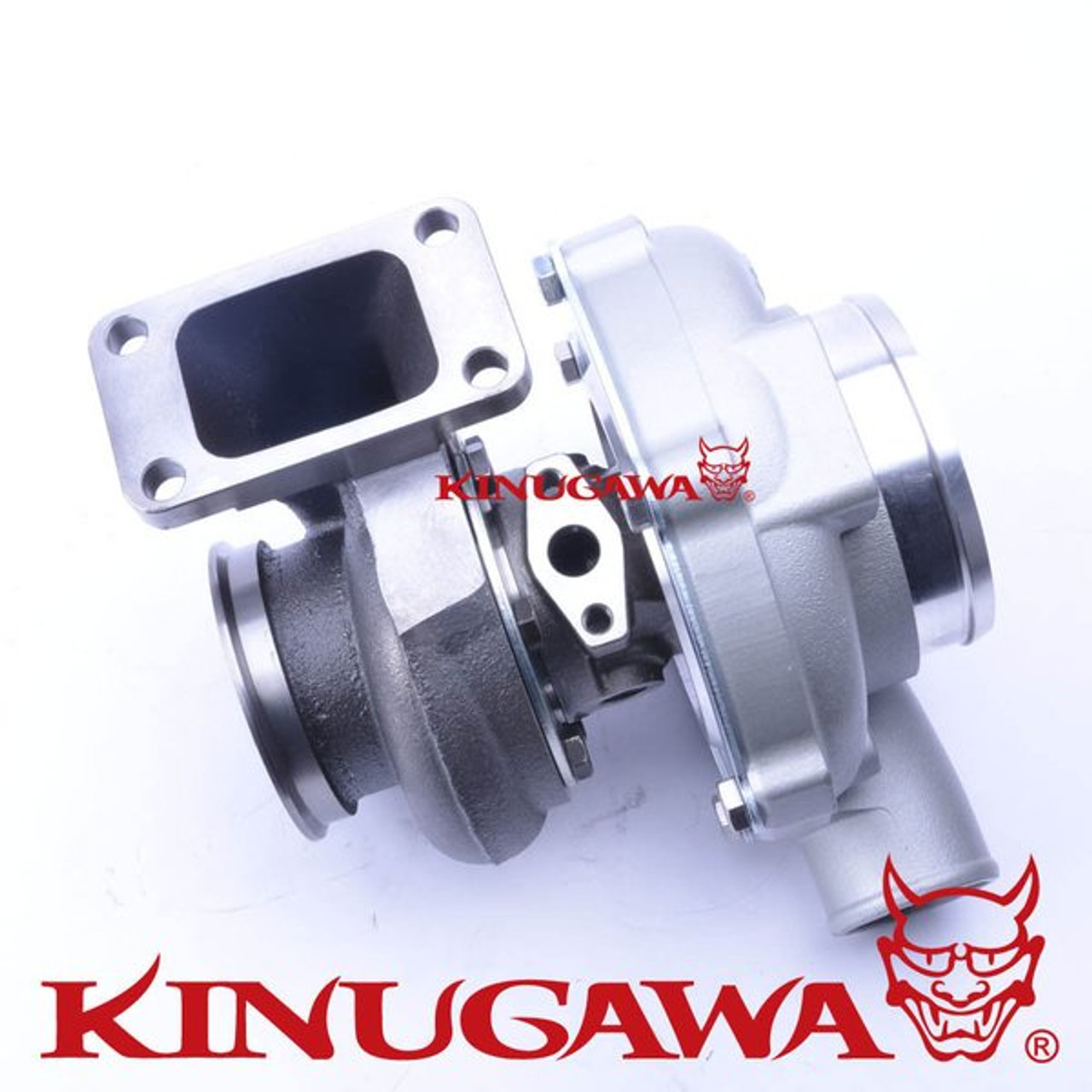 "Kinugawa Ball Bearing Turbocharger 4"" Anti Surge GTX3071R 60mm w/ .64 T3 V-Band"