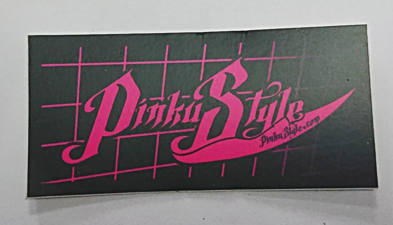 Pinku Style Sticker 03 Small Rectangle