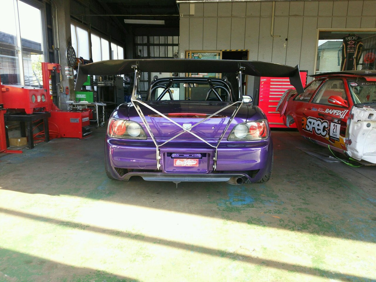 Street Faction Chassis Mount Wing