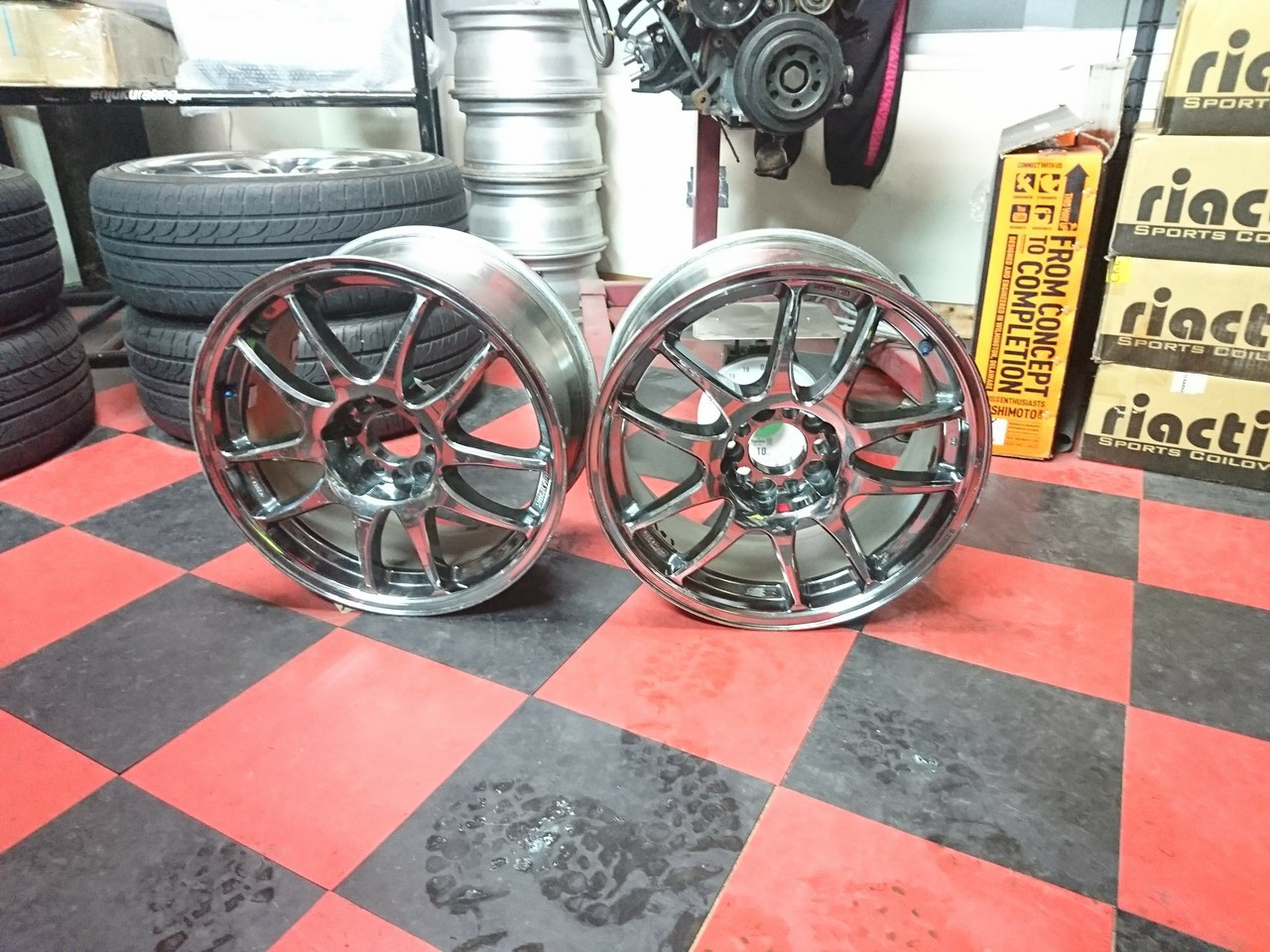 Work Emotion CR Kai 17x8 +32