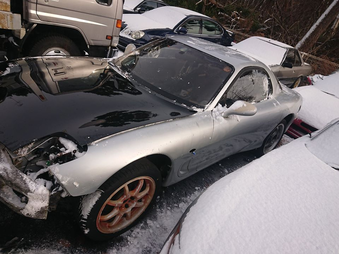 1993 RX-7 FD3S Rolling Chassis No Documents