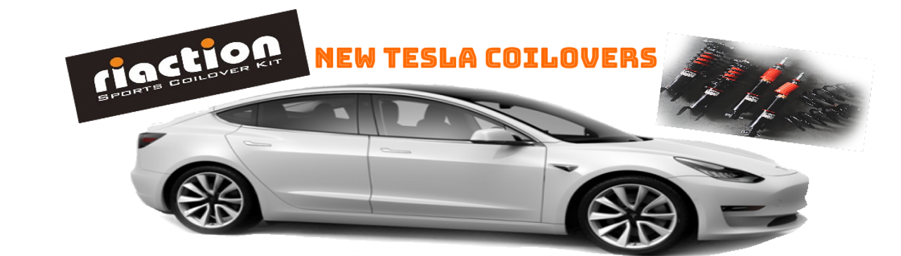Riaction Sport Coilovers  Tesla Model 3  AWD/RWD