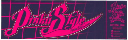 Pinku Style 01 Sticker Medium Size Kiss Cut  (2)