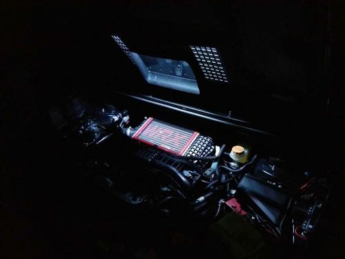 Subaru Hood Scoop LED Light Kit