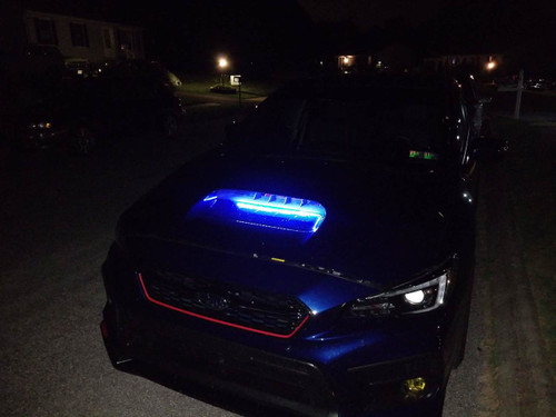 Subaru Hood Scoop LED Light Kit