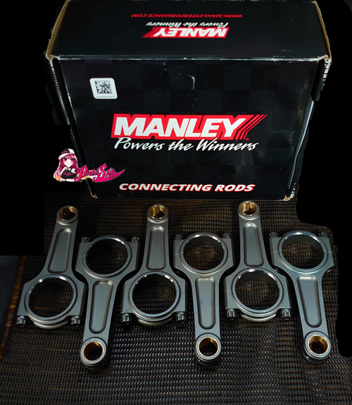 Manley I- Beam Con Rods RB25, RB26