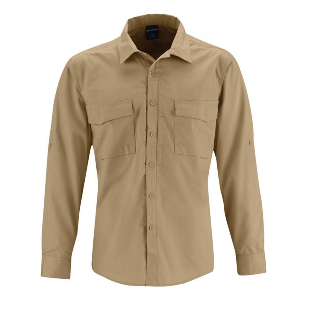 b0d36522 Propper REVTAC Men's Button Down Duty Uniform Tactical Shirt - Long Sleeve  F5334