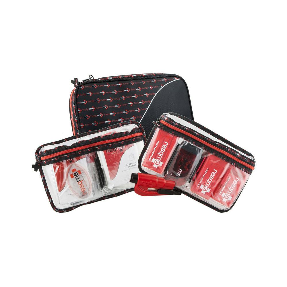 resqme PrepareMe The Essentials Deluxe (124 Piece) Lifesaver Survival Kit
