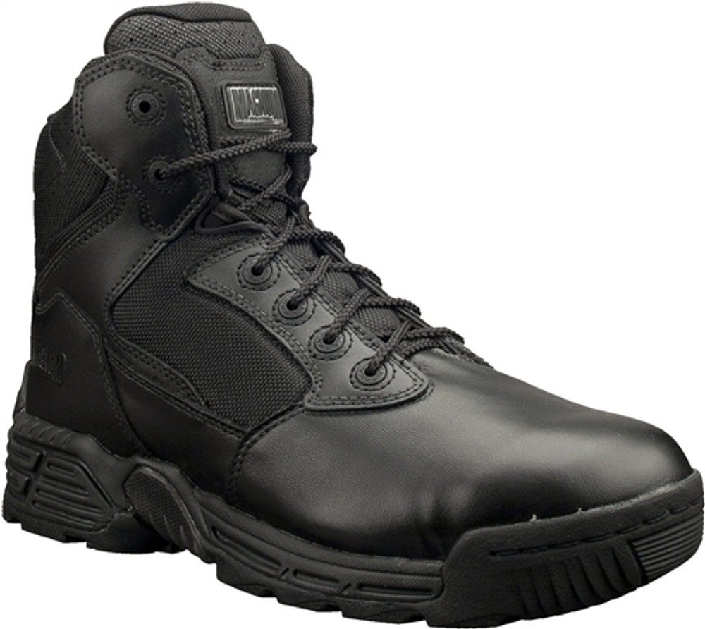 """Magnum Mens 6"""" STEALTH FORCE 6.0 WPI Black Police Army Combat Boots"""