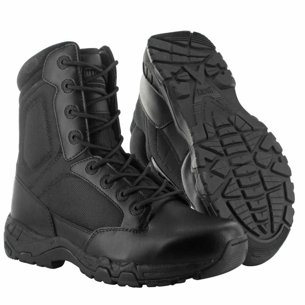 "Magnum 8"" Mens VIPER PRO 8 IN WP 400 Black Police Army Combat Boots 5476"