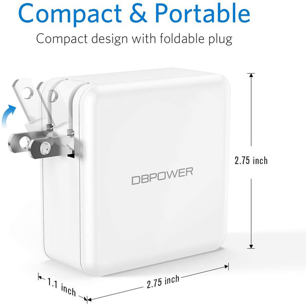Tenker USB Type C Charger, USB-C Charger w/ Power Delivery 60W USB Charger