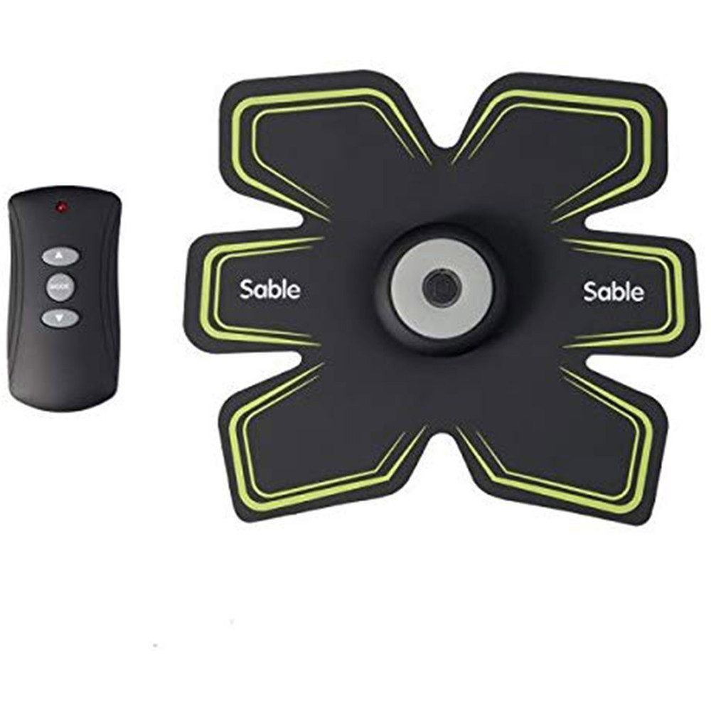 Sable Abdominal Muscle Toning Belt For Men and Women with Remote Control
