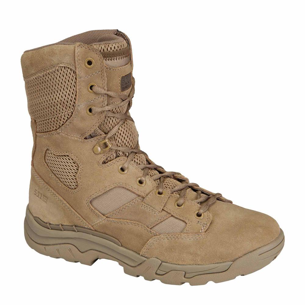 """5.11 Men's 8"""" Taclite MDT CMEVA Midsole Nylon/Suede Leather Tactical Boots 12031"""