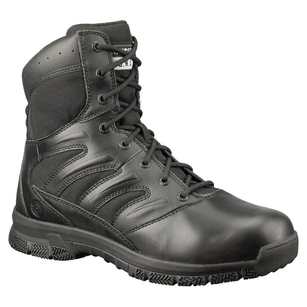 "Original Swat Force 8"" Durable Slip Resistant Durable Black Boots 155001"
