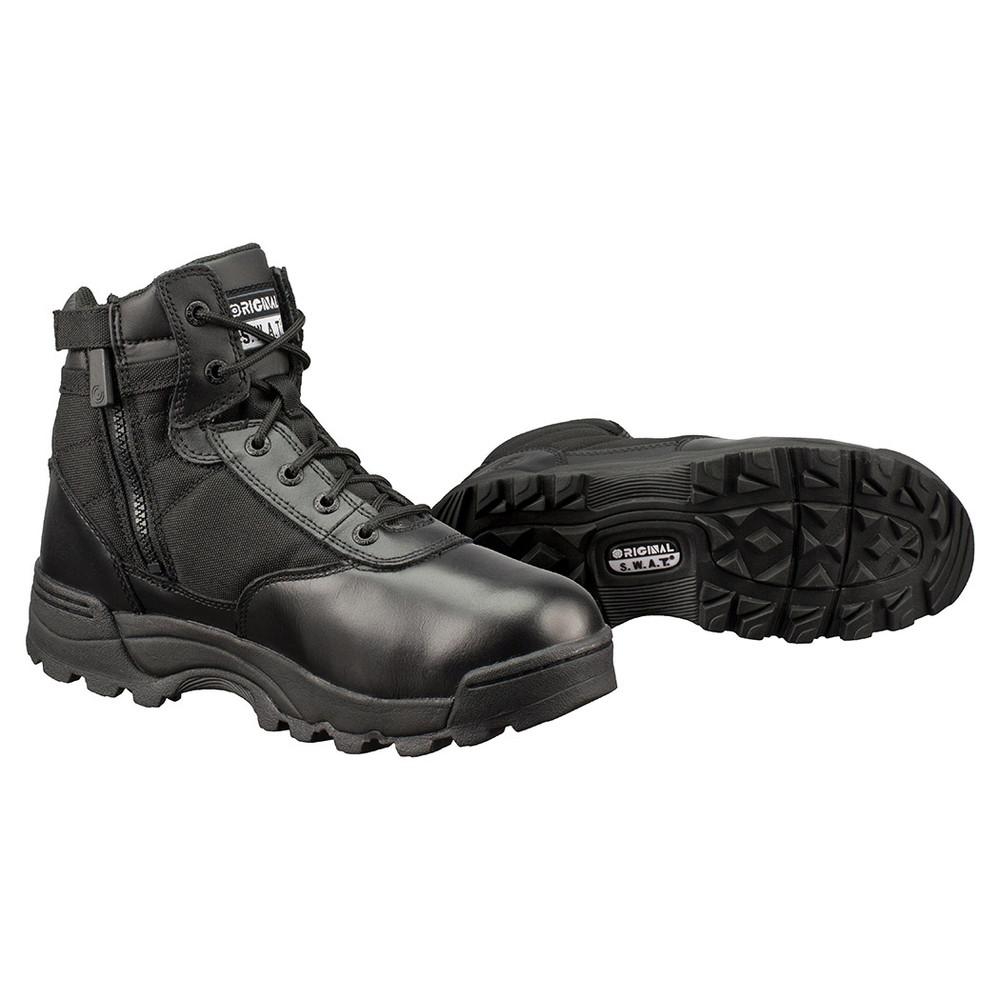"Original Swat Classic 6"" Side-Zip Men's Tactical Boots Black 116401"