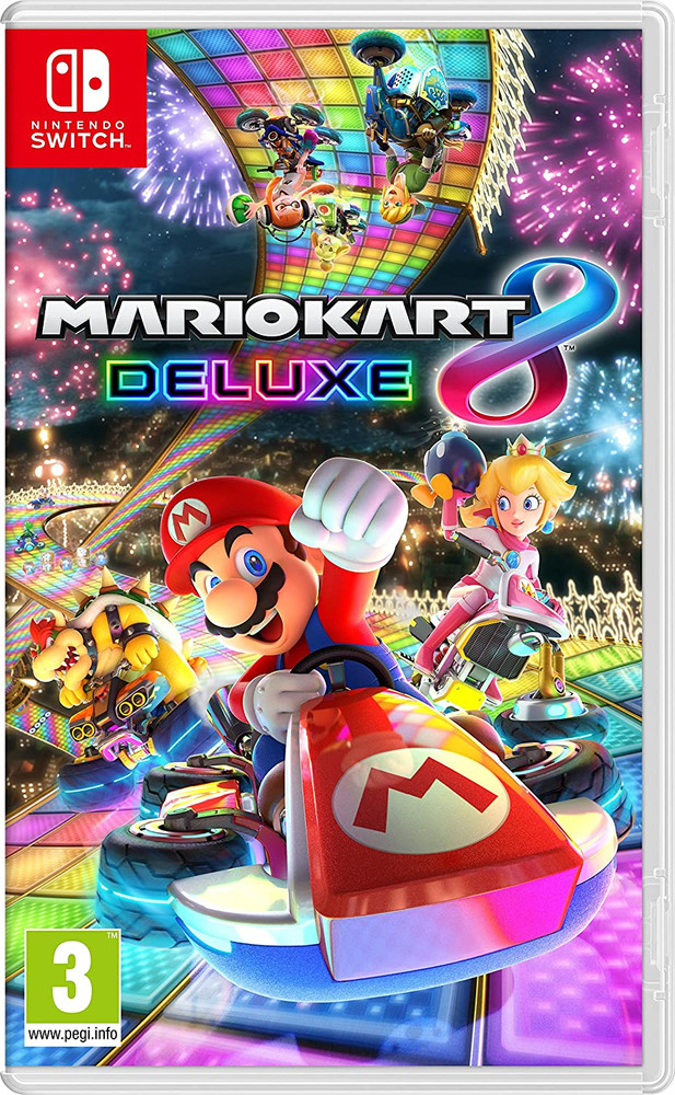 Nintendo Mario Kart 8 Deluxe Video Game for Nintendo Switch System