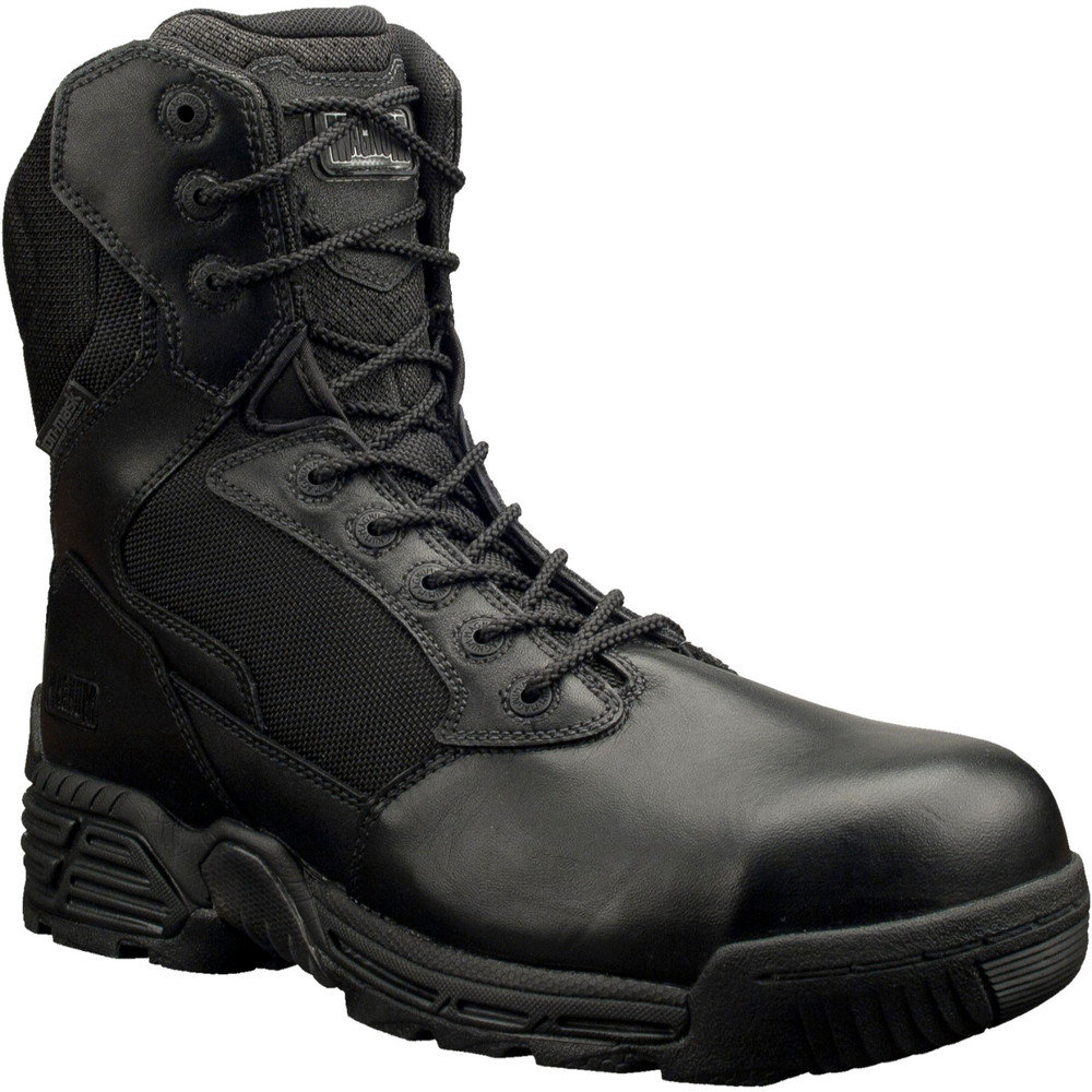 """Magnum Mens 8"""" STEALTH FORCE 8.0 SZ CT WPI Black Police Army Combat Boots 5866"""