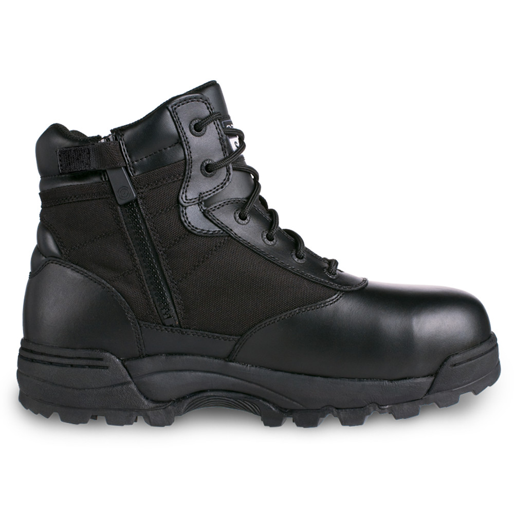 """Original Swat Classic 6"""" Tactical Police Military Boots w/Side Zip Black"""