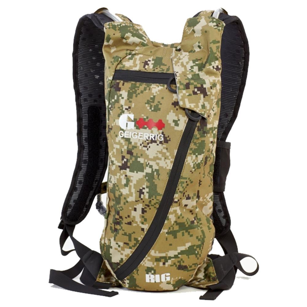 Geigerrig The Rig Digital Camouflage G3 Pressurized Hydration Pack Backpack