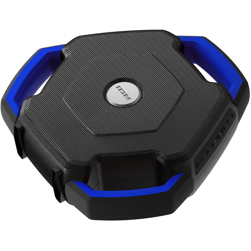 Ion Audio Wave Rider Bluetooth Speaker Floating and Waterproof w/ LED, FM Radio