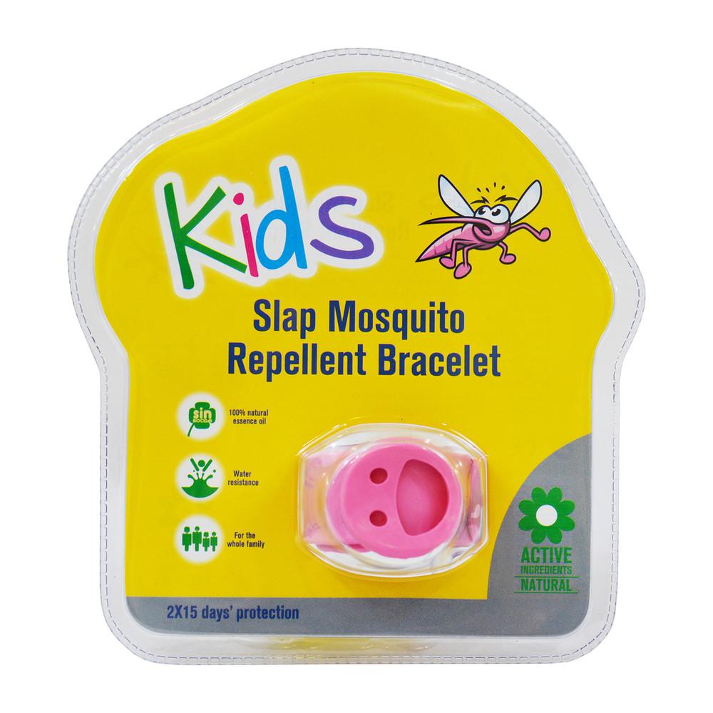 Slap Mosquito Repellent Bracelet w/ Two 15 Day Refill Pellets - Multiple Colors