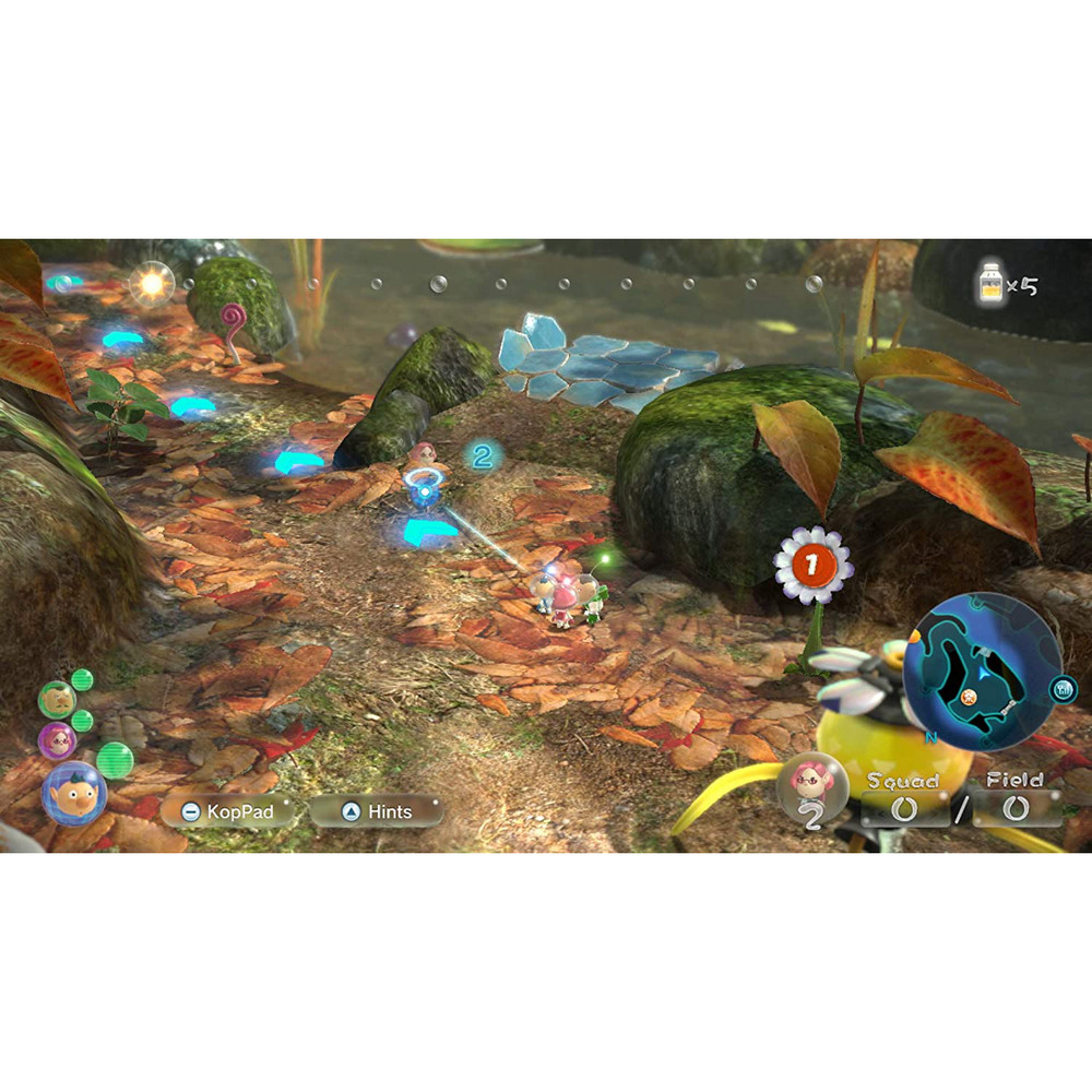 Pikmin 3 Deluxe Video Game for Nintendo Switch - EU