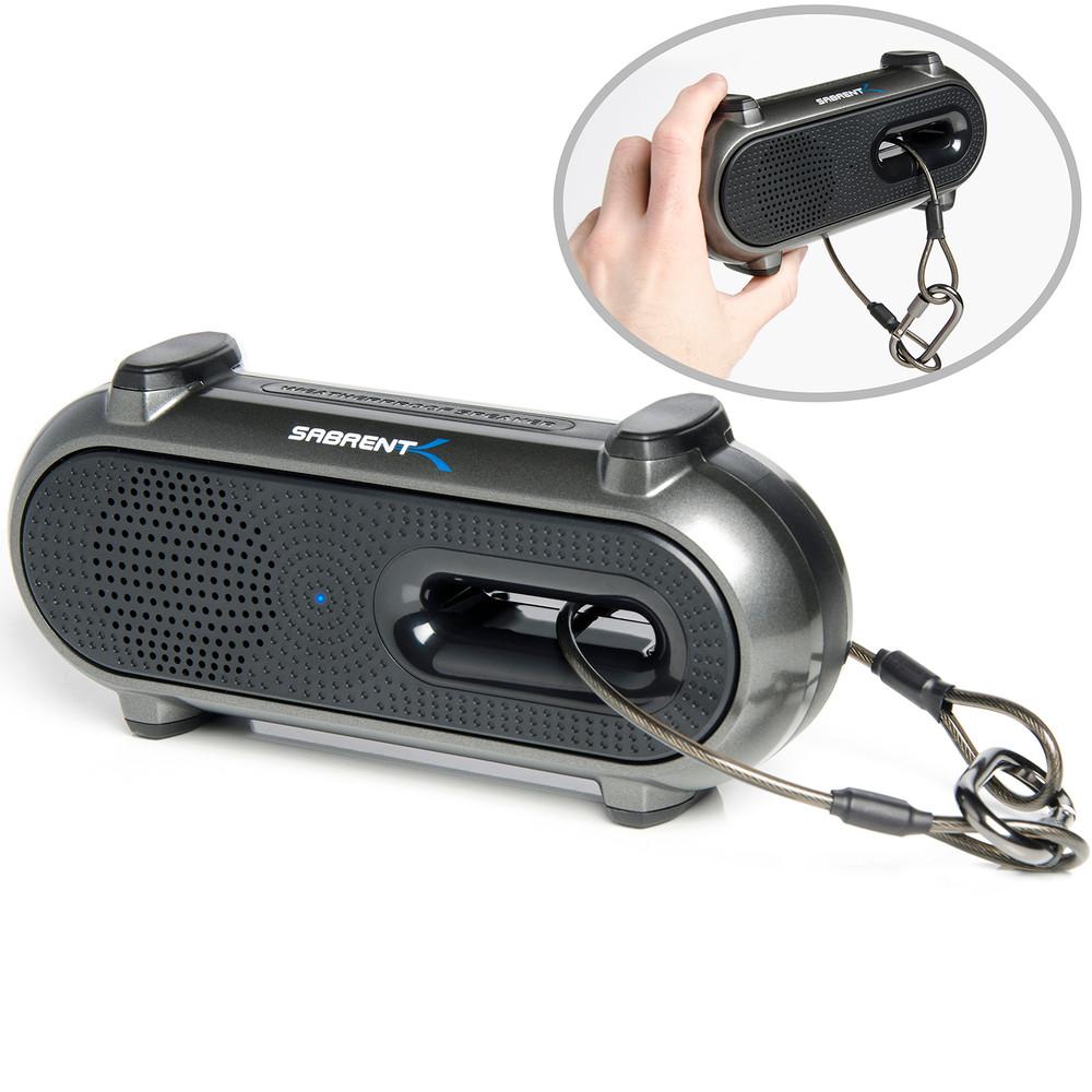Sabrent Portable Rechargeable Weatherproof Wireless Bluetooth Mini Speaker