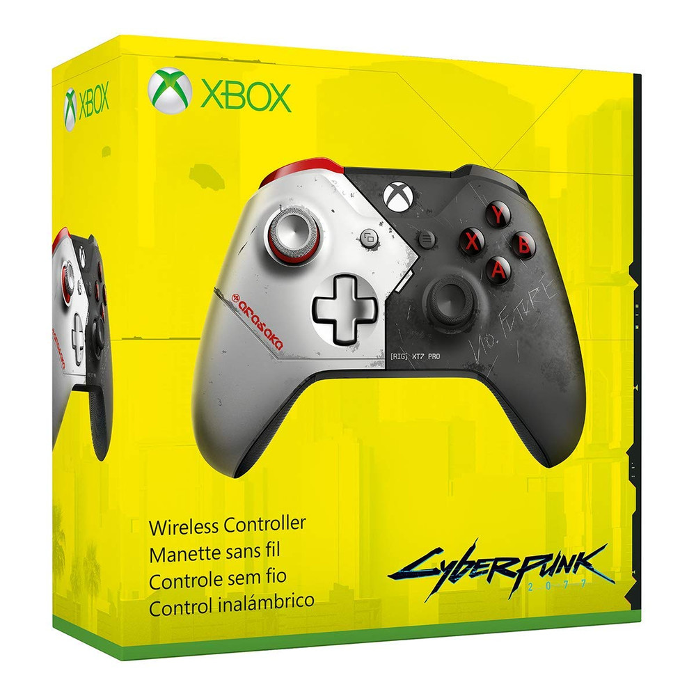 Refurbished Xbox Wireless Controller – Cyberpunk 2077 Limited Edition - WL3-00141