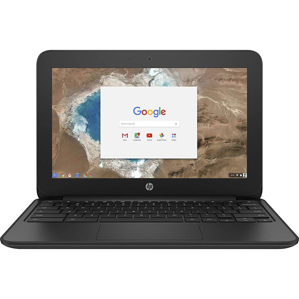 "Refurbished HP 11 G5 Chromebook 11.6"" Laptop Intel Celeron N 1.60GHz 4GB 16GB SSD - 1FX82UT"