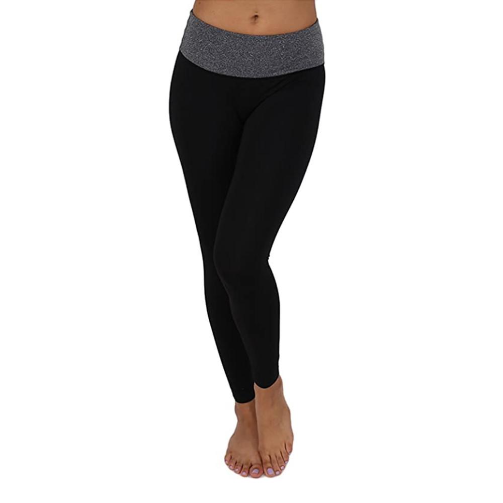 Alta Women's Two Tone 7/8 Yoga Pants Compression Workout Legging
