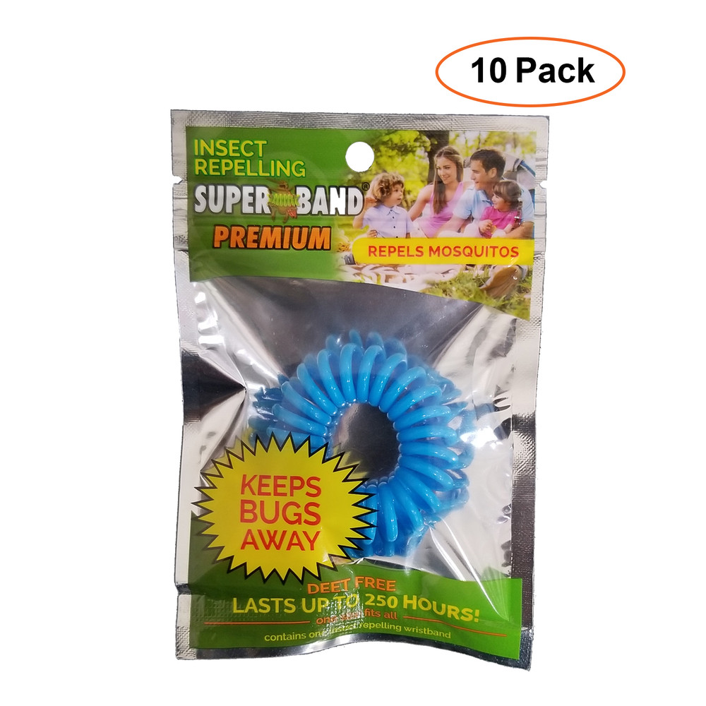 Evergreen Superband Premium 250-Hours Non-Toxic Mosquito Repelling Wrist band