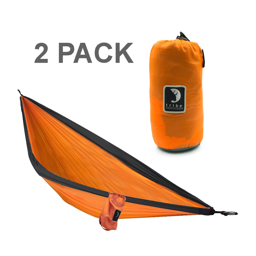 2-Pack Tribe Provisions Double Person Adventure Hammock Rip-Stop Nylon