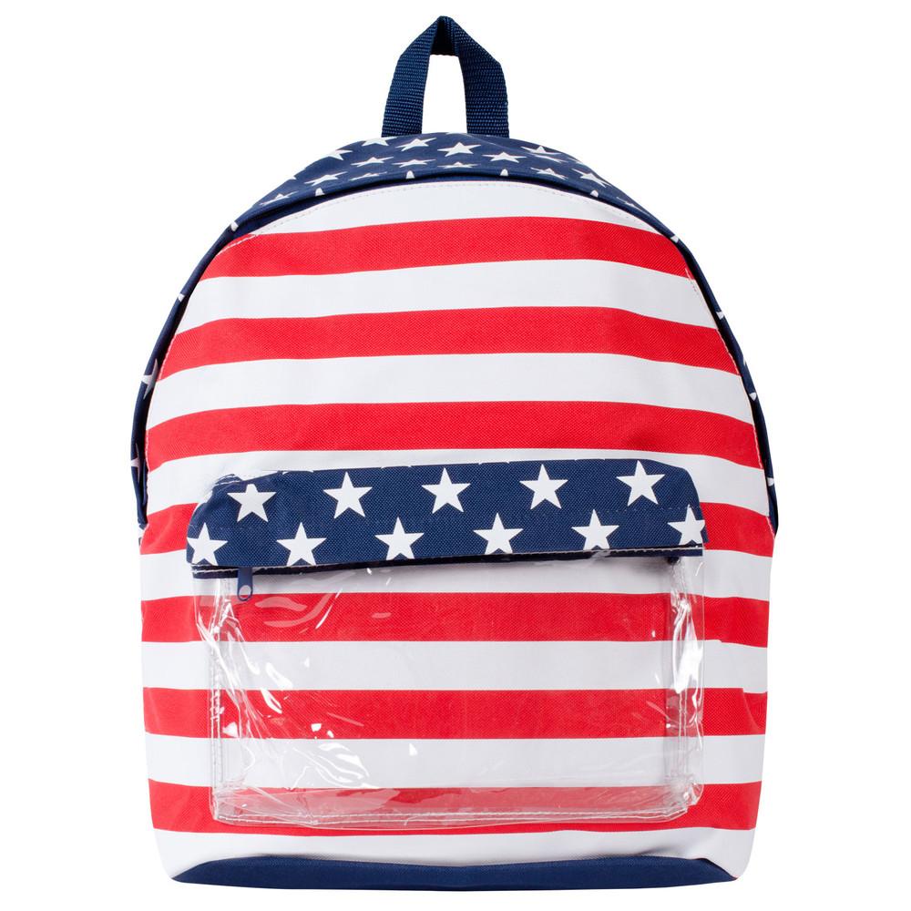 Alta - Lightweight  Patoritic American Flag Backpack