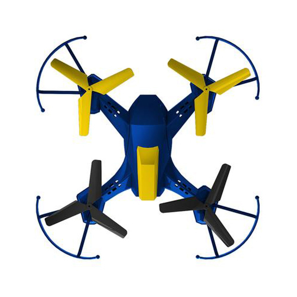 Alta Turbo Battle Quadcopter Rechargeable Drone with 2.4GHZ Remote Control - Blue