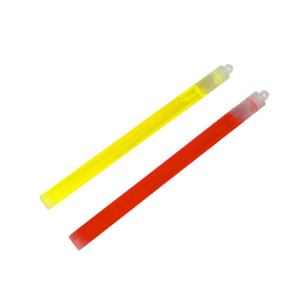 Cyalume Snaplight Roadside Emergency Yellow and Red Ultra Bright Lights Sticks