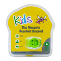 Slap Mosquito Repellent Bracelet w/ Two 15 Day Refill Pellets - Multiple Colors