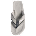 Islander Unisex All-Weather Comfortable and Stylish Flip-Flop Sandals - Grey - M7/W9