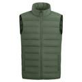 Men's Full Zip Warm Puffer Vest Jacket