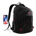 Travel Waterproof Backpack Anti-theft W/USB Charging Port-Fits 15.6inch Laptop