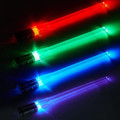 4 Pairs Glowing Light ChopSticks Reusable Sushi Lightup Removable Handle Dishwasher Star Wars LED Red Green Blue Purple