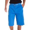 Alta Designer Fashion Men's Cargo Shorts, Twill Belt Included - Multiple Colors