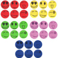 72 Hour (6 Piece) Natural Mosquito Repellent Smiley Patch - Kid Safe - No Deet