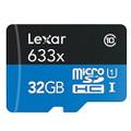 Refurbished (10-Pack) Lexar 32GB High-Performance 633x Class 10 microSDHC UHS-I Memory Card