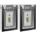 "(2-Pack) Super Bright """"Light Switch Shaped""; Battery Powered LED Indoor Light"