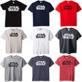 Star Wars Classic Font Design Men's Official Simplest Logo T-Shirt
