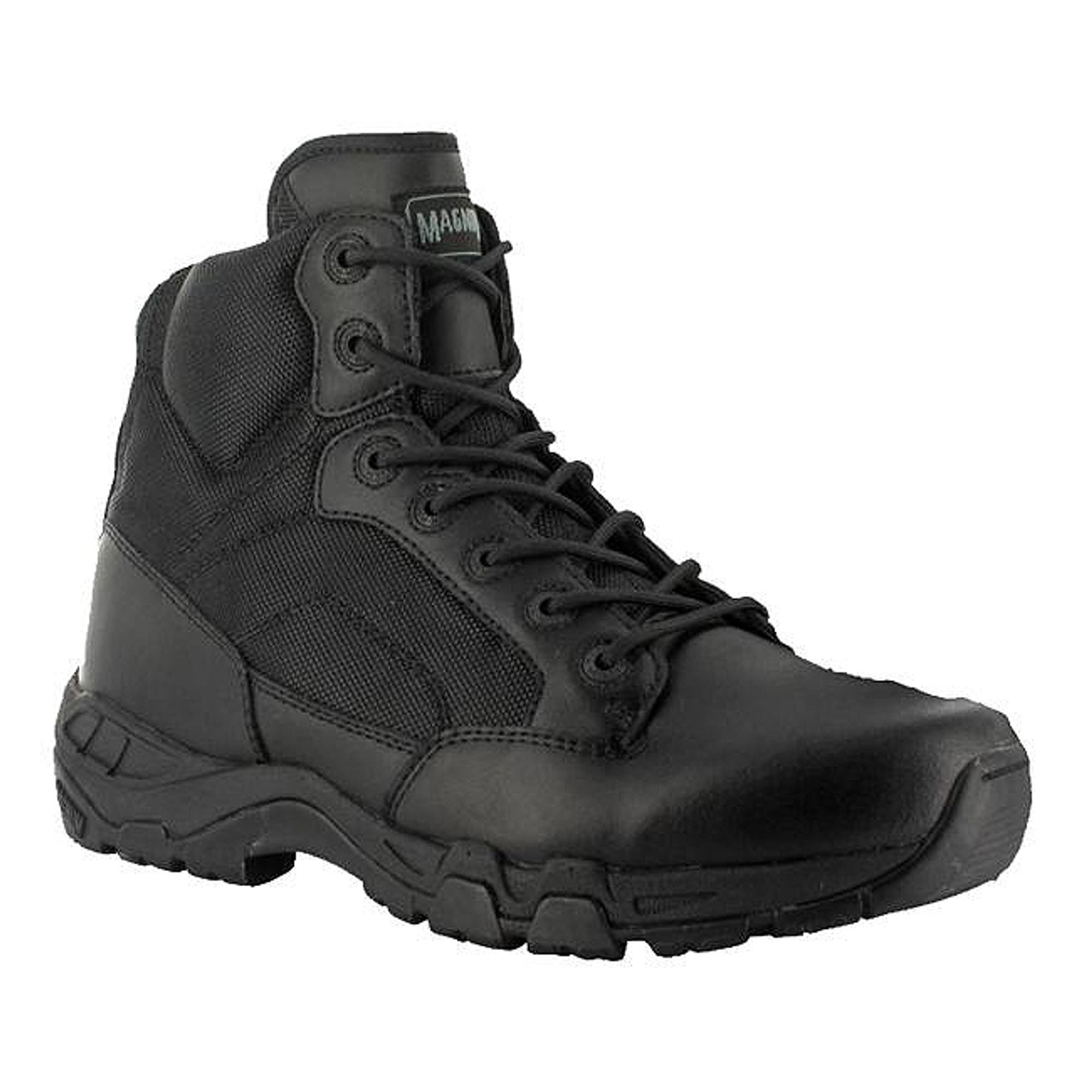 Magnum Mens Viper Pro 5.0 Side Zip Black Tactical Military Boots
