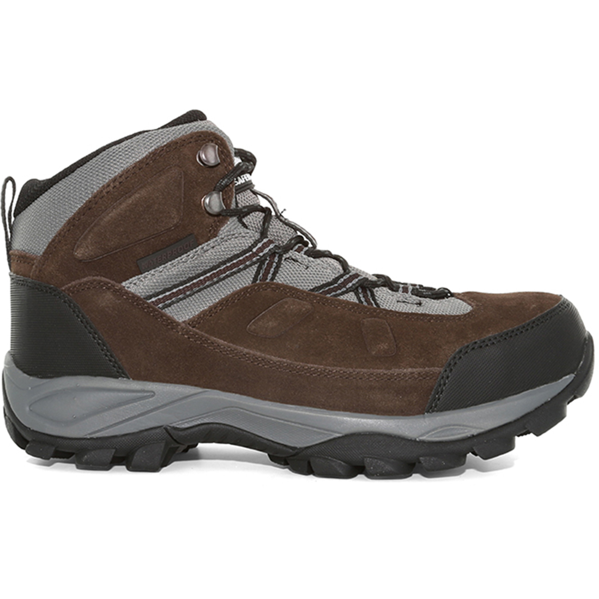2e639c97b59 Magnum Men's Bridgeport Waterproof Steel Toe Boots, Chocolate / Charcoal